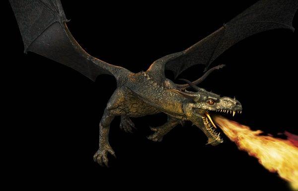 Drache spuckt Feuer | Drachen | Dragons | Pinterest | Drache, Feuer ...
