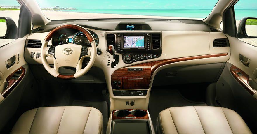Toyota Sienna Interior Exterior Photos Toyota Sienna Interior Toyota Sienna Toyota