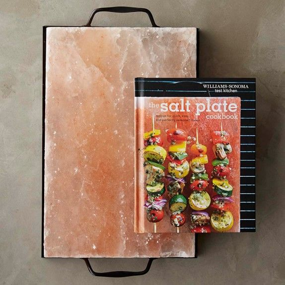 Himalayan Salt Plate Set Plate Holder Press u0026 Book & Himalayan Salt Plate Set Plate Holder Press u0026 Book   Grill It ...