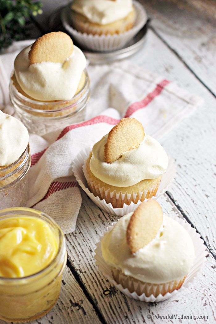 Simple and Delicious Banana Pudding Cupcake Recipe Delicious and sweet Banana Pudding Cupcakes. A simple recipe with a fancy result.