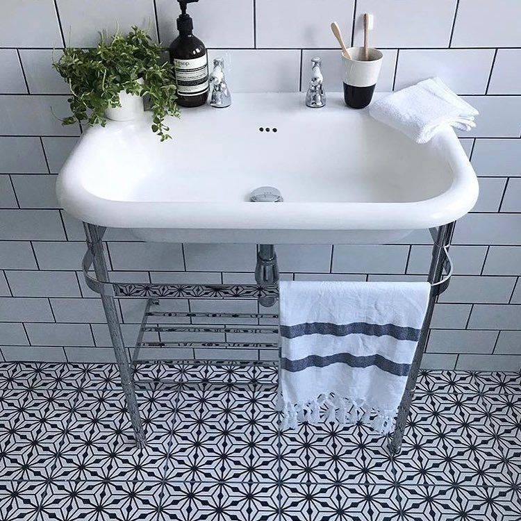 Fired Earth On Instagram Our Sorrento Nizza Tiles Are Always A Popular Choice Practical Low M Fired Earth Bathroom Fired Earth Bathroom Design Small Modern