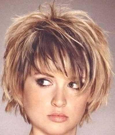 Frisuren Feines Haar Rundes Gesicht