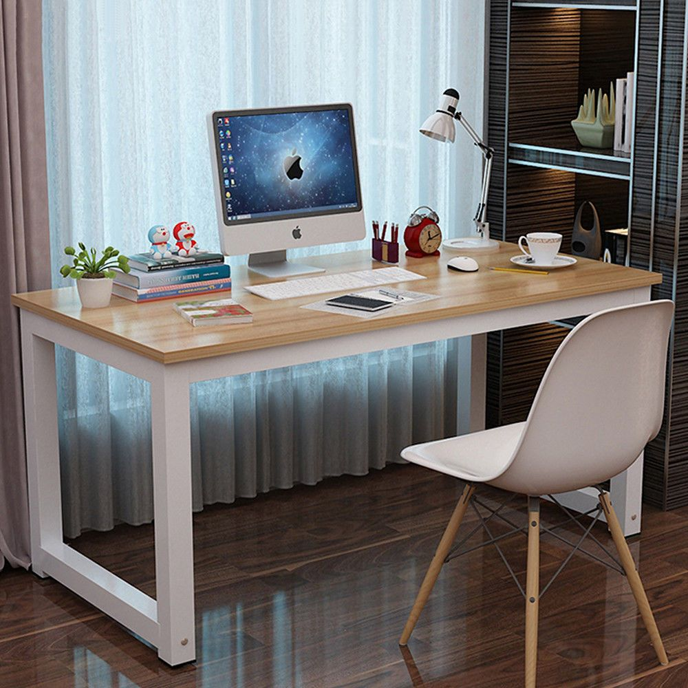 - Details About Computer Desk Study Writing Table Home Office