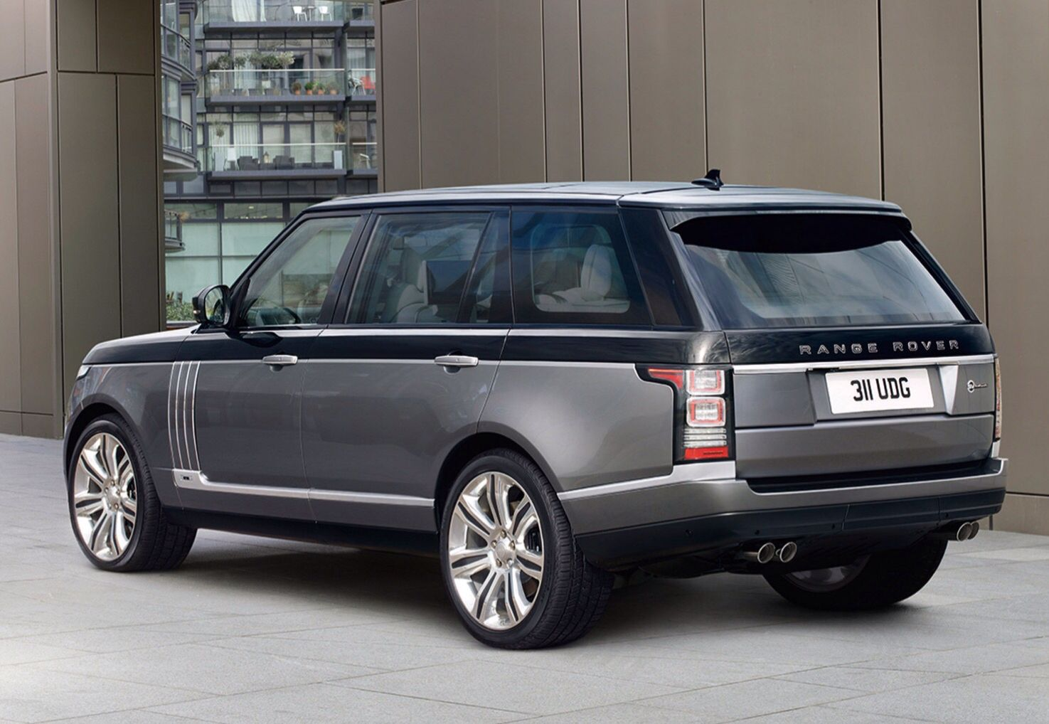 2016 Range Rover SV Autobiography You get a post code