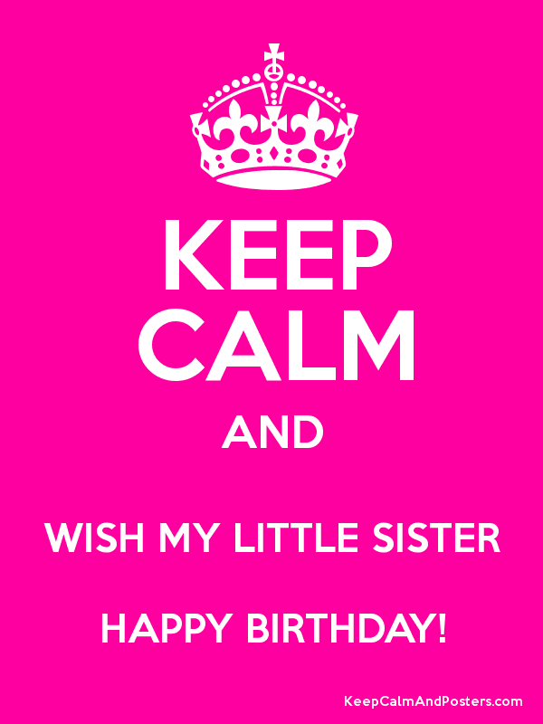 Remarkable Happy Birthday Quotes Little Sister Happy Birthday Quotes Funny Birthday Cards Online Inifofree Goldxyz