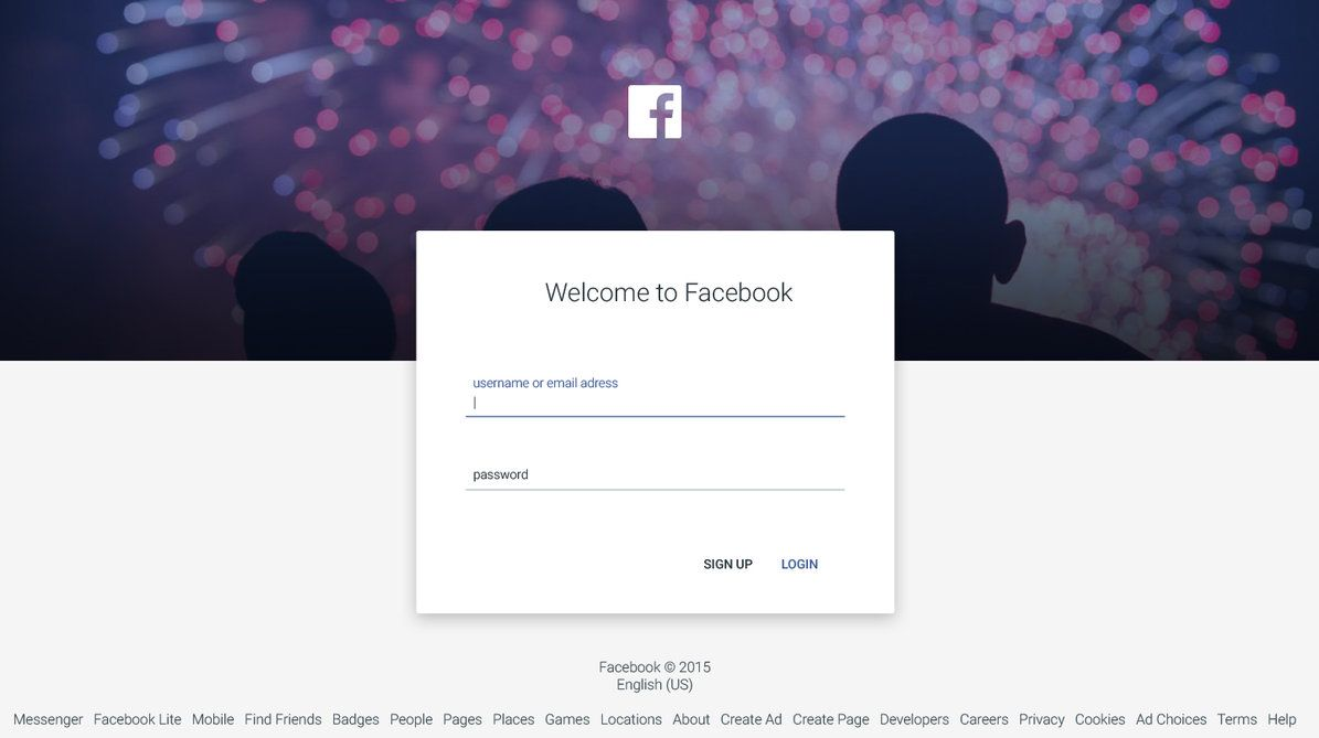 Facebook Login/Sign up with Material Design by JovicaSmileski