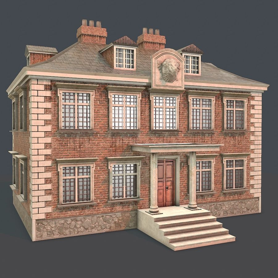 Low Poly House 01 Modelo 3D $25