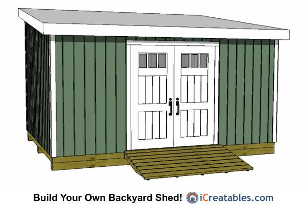 12x16 lean to shed plans | Projects to Try in 2018 | Pinterest ...