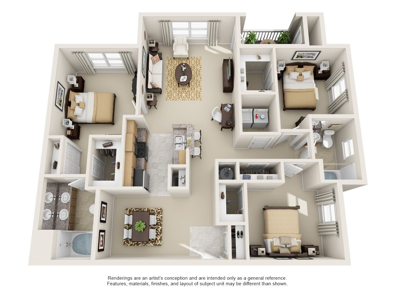 1 And 2 Bedroom Floor Plans Stoneridge Farms Apartments Tennessee Apartment Steadfast Smy 3d House Plans Studio Apartment Floor Plans Sims House Plans