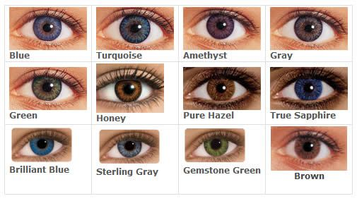 Guide to freshlook colorblends contact lenses my style pinterest