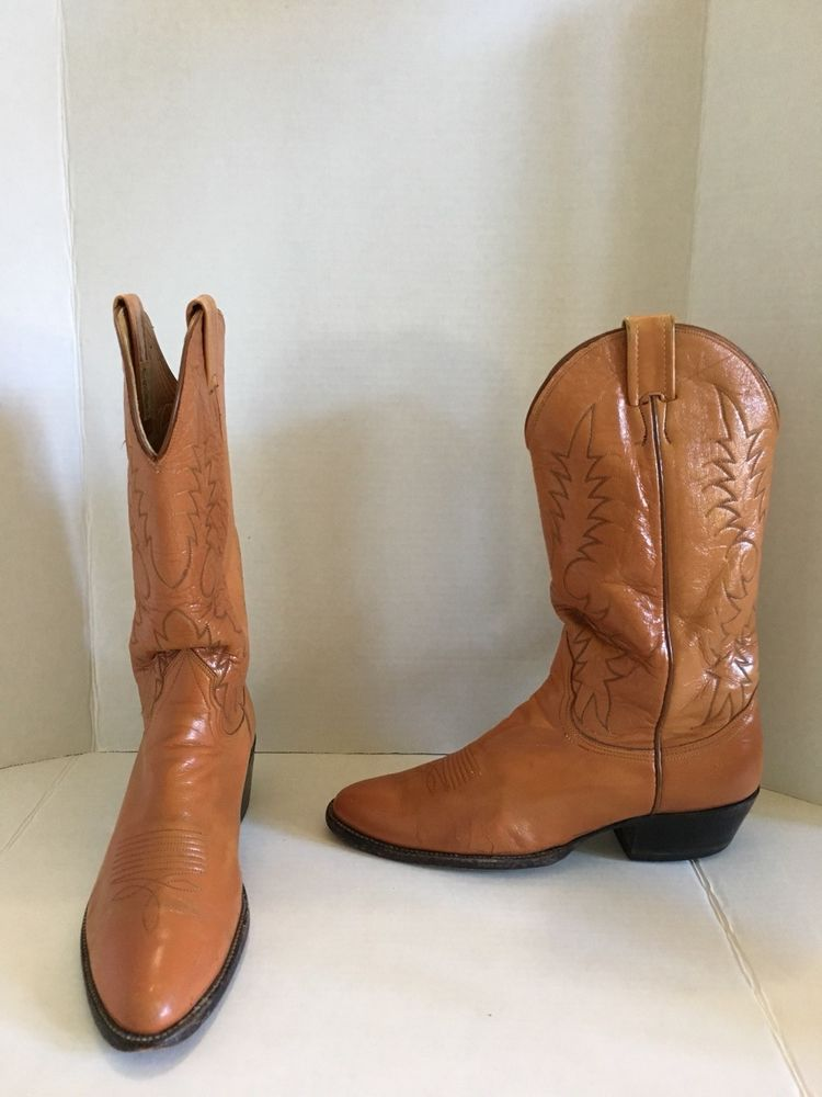 54ca0cd4a252 Mens Nocona Texas Western Cowboy Boot Brown 9.5 B Metal Inserts Included   fashion  clothing  shoes  accessories  mensshoes  boots  ad (ebay link)