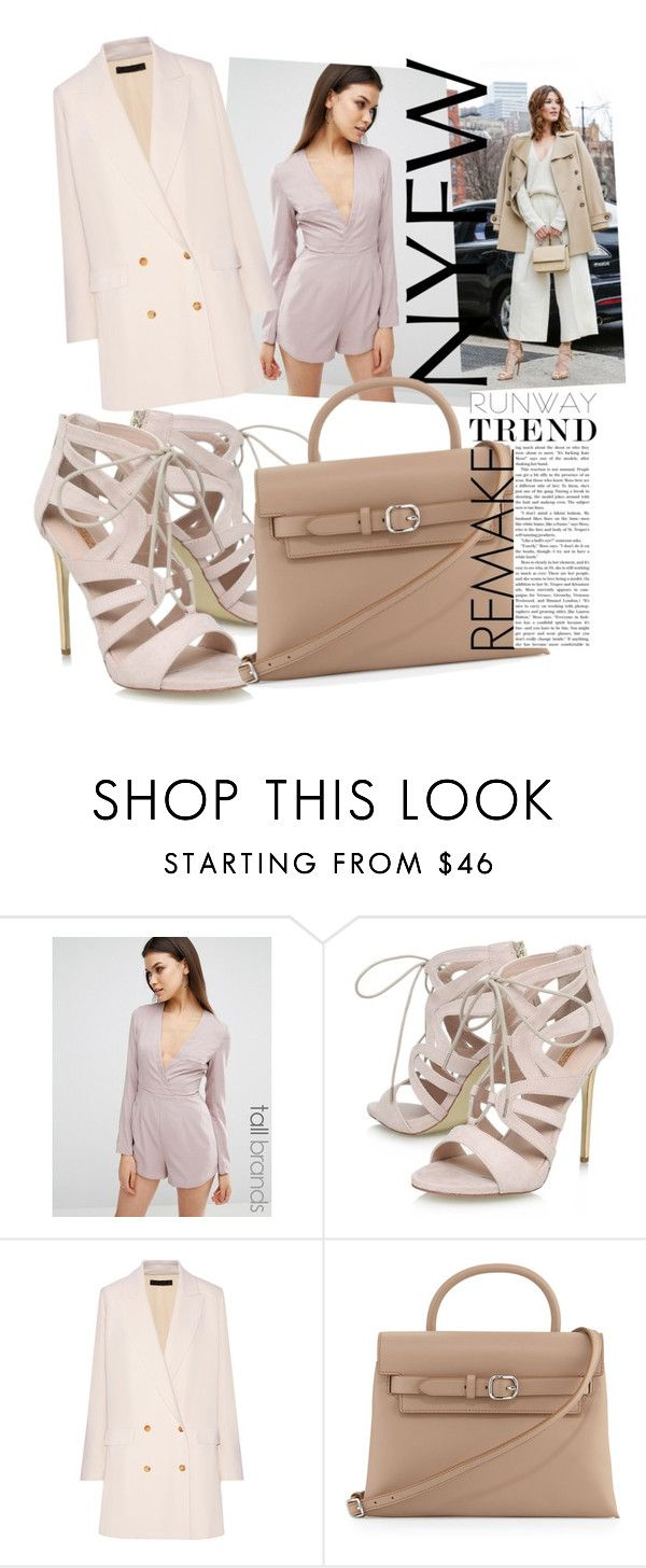"""""""remake"""" by fanfab ❤ liked on Polyvore featuring Missguided, Carvela, The Row and Alexander Wang"""