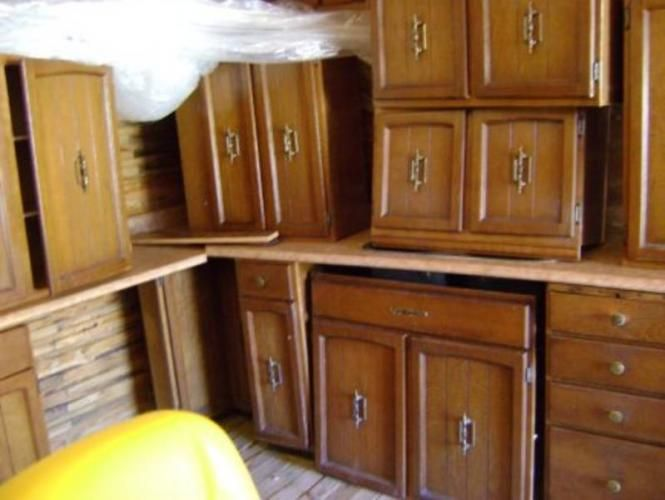 Used Metal Kitchen Cabinets for Sale | Metal kitchen ...