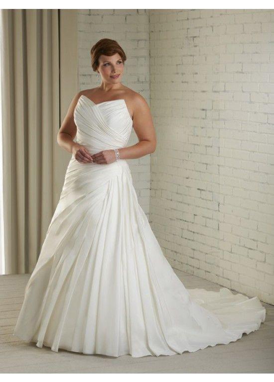 2015 Strapless Sleeveless Bridal Wedding Dress