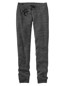Slim heathered terry pants | Gap, $42.95