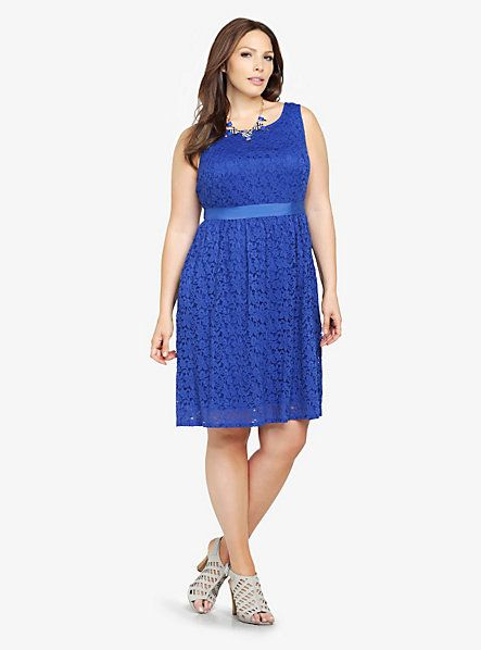 Lace Dress | Torrid | I could actually wear that | Pinterest ...