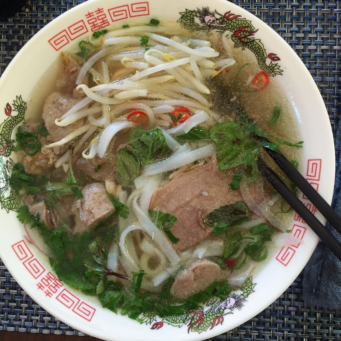 My late lunch is a benefit of writing a pho cookbook  #phobo