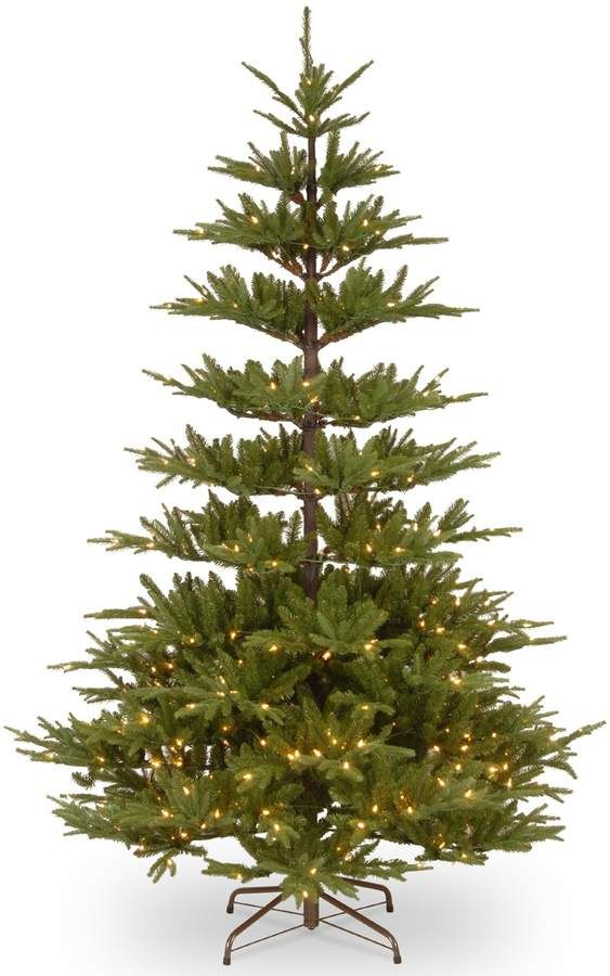 Types Of Artificial Christmas Trees.National Tree Company 7 5 Ft Glenwood Fir Pre Lit