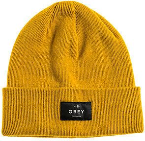 c1ed39da79f Obey The Vernon Beanie in Gold