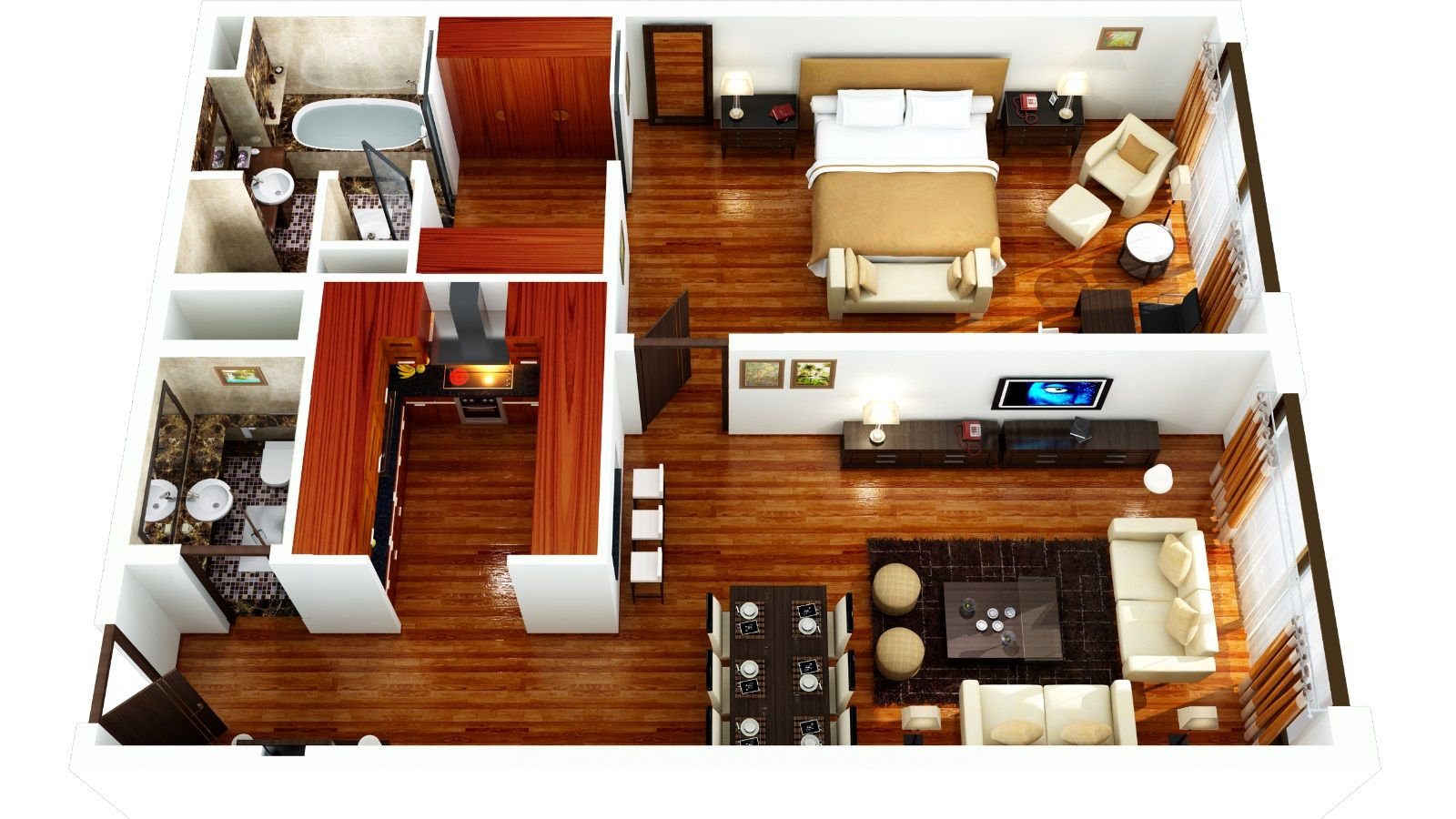 Image result for executive style 2 bedroom apartments
