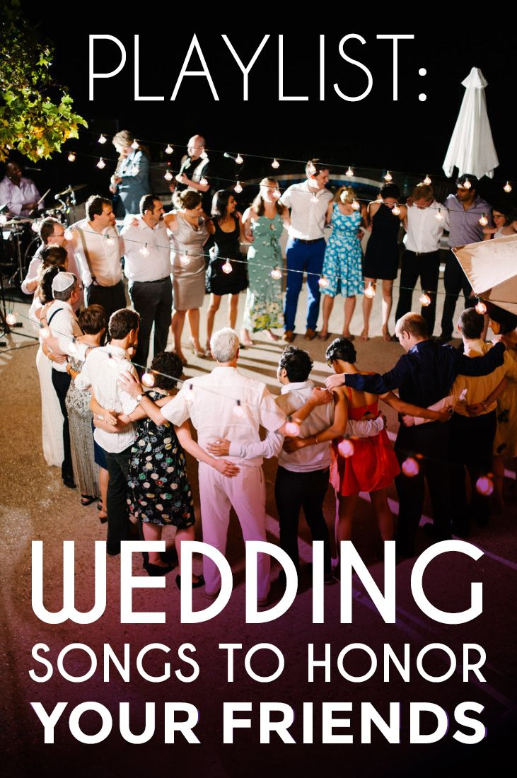 Playlist Songs To Honor Your Friends Wedding Reception