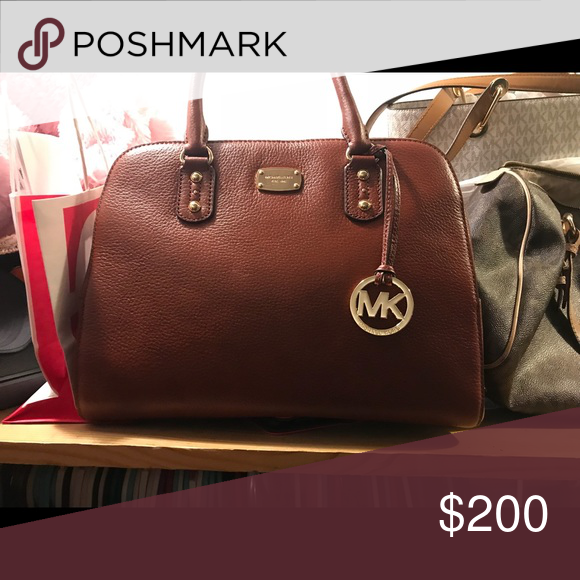9b400166b8c234 Michael Kors large satchel handbag Brand new with tags still with original  Michael Kors paper stuffing Michael Kors Bags Satchels