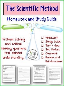 Scientific Method Worksheets Homework Or Study Guide Scientific Method Science Skills Scientific Method Worksheet