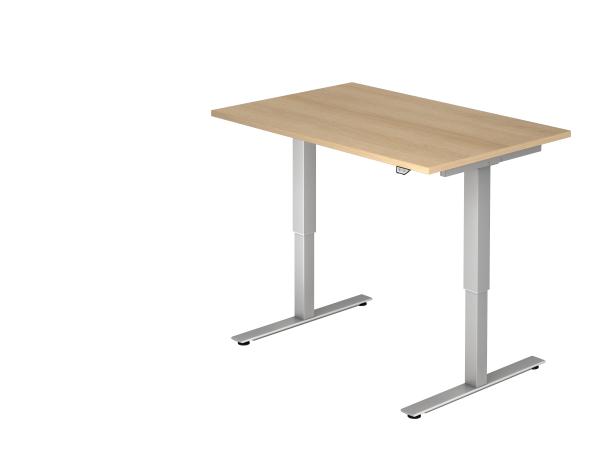 Sitz Steh Schreibtisch Elektrisch120x80cm Eiche Schreibtisch Tisch Elektrisch