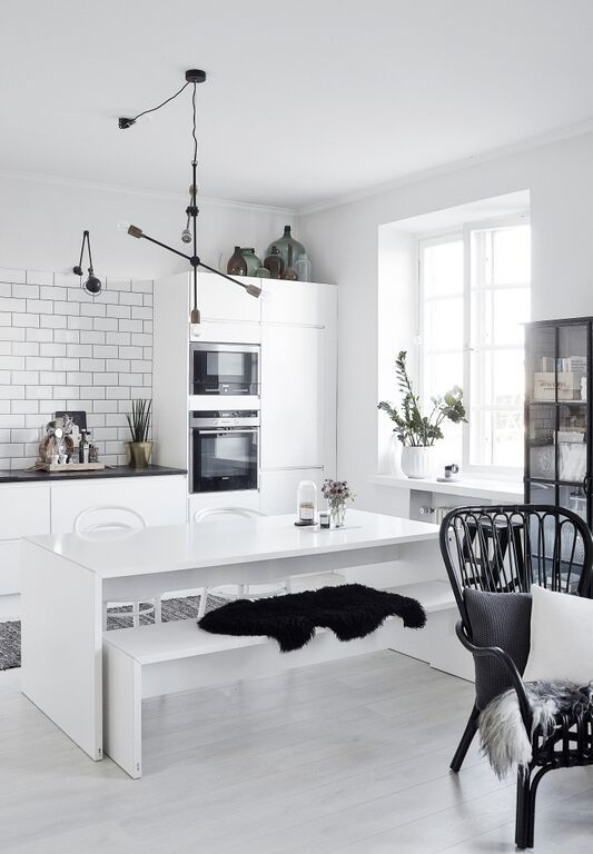 The Helsinki Home Of A Design Blogger My Scandinavian Home Kitchen Interior Home Kitchens Interior