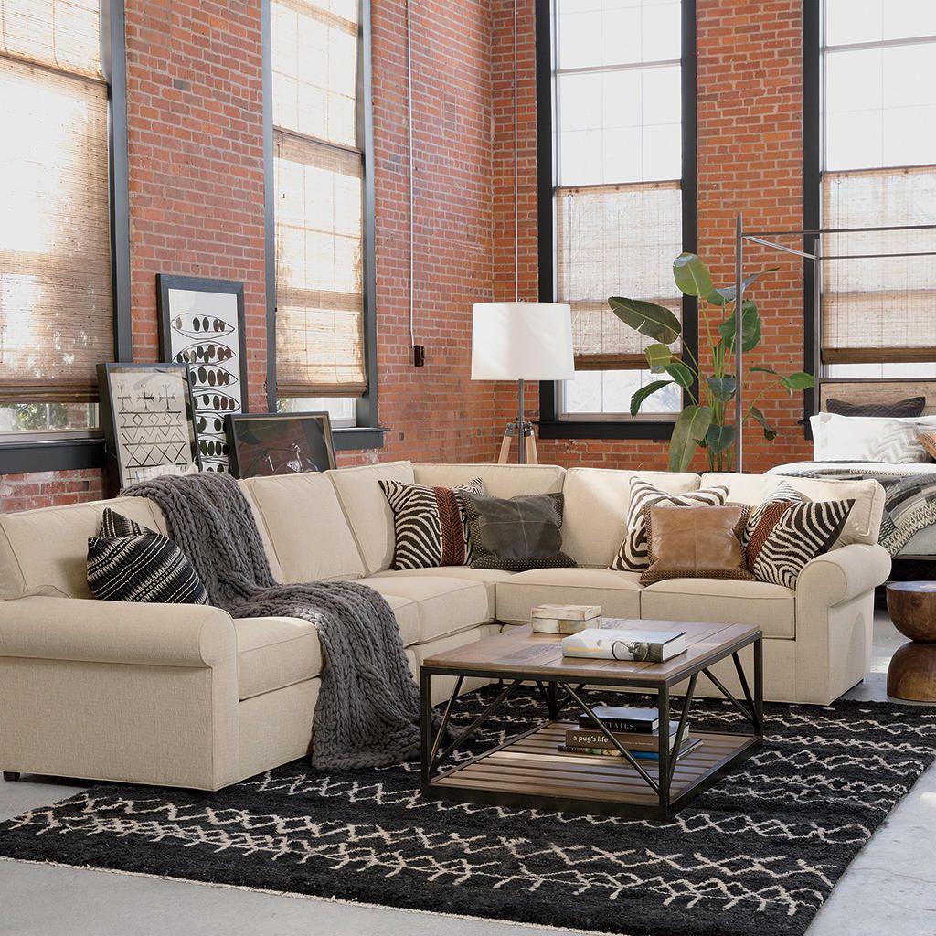 living room with sliding barn door ethan allen 970 iyannough rd rh pinterest com