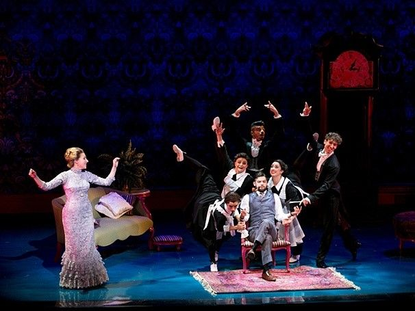 The cast of Finding Neverland omg it looks so fantastic