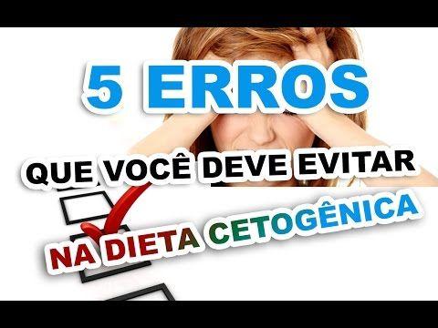 Dieta Cetogênica 5 erros que você deve evitar - YouTube