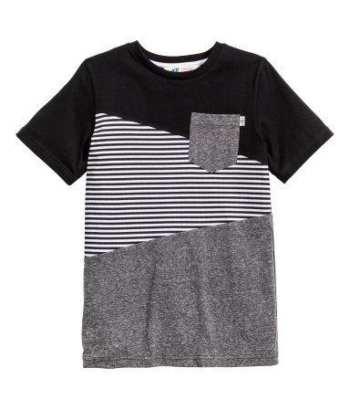 Color-block T-shirt  9fb5085552bfe