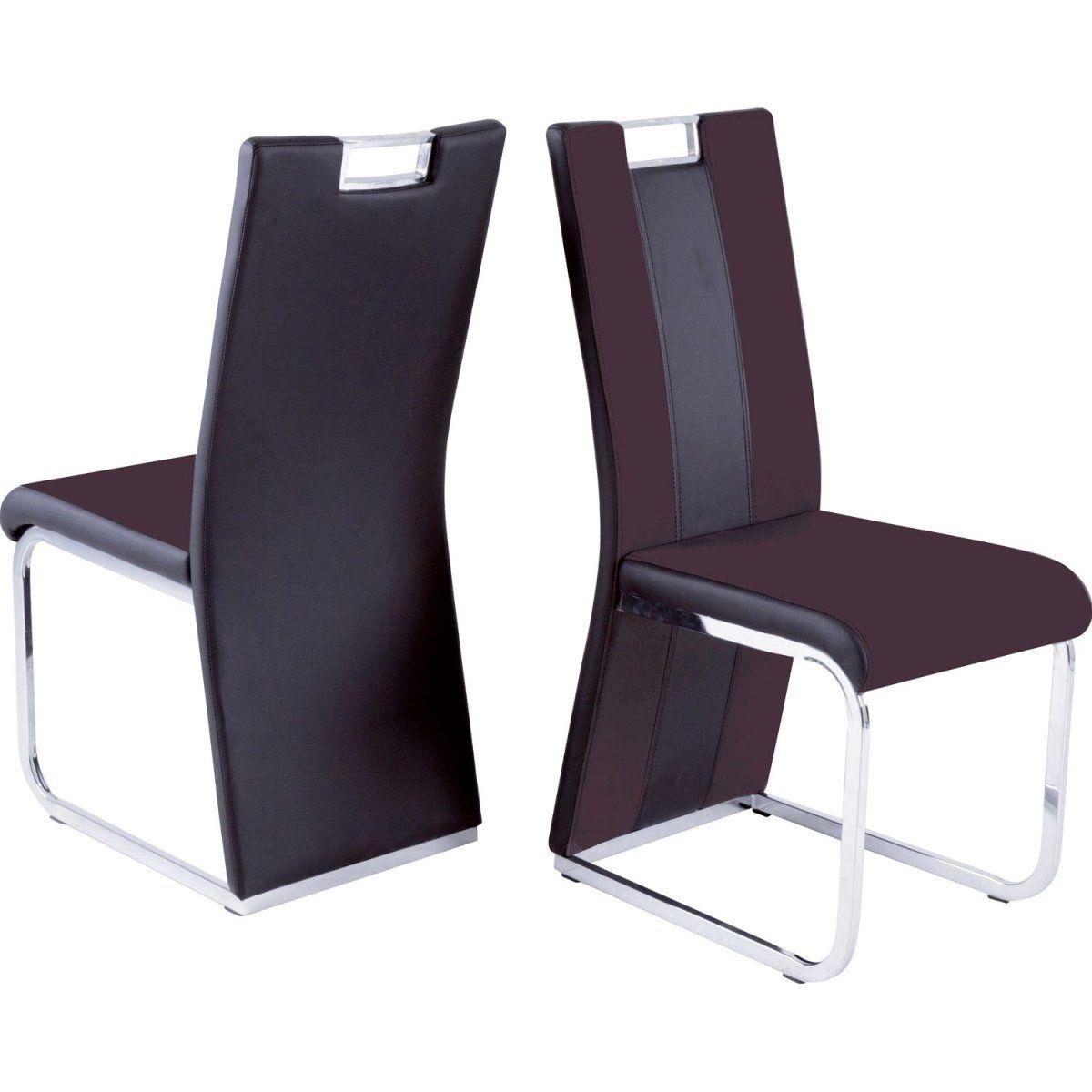 Astounding Hochlehner Sofa Dekoration Von Reality Hochlehner-stuhl Bari 3 4er-set Leder-look Dunkelbraun