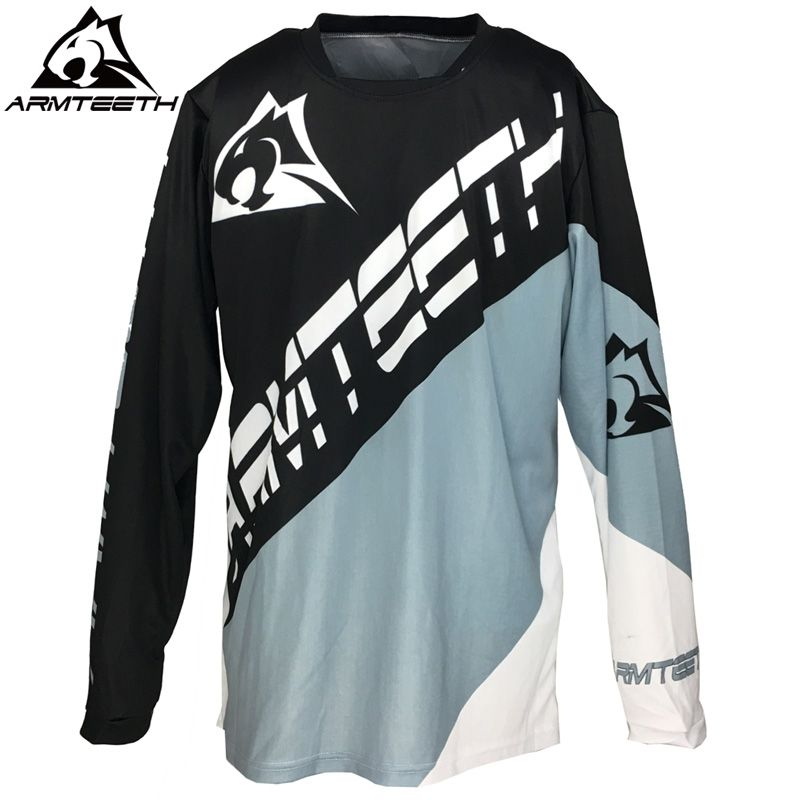 edfca04f0b9 2017 Armteeth Moto Jersey MX MTB Off Road Mountain Bike DH Bicycle Jersey  BMX Motocross Shirts