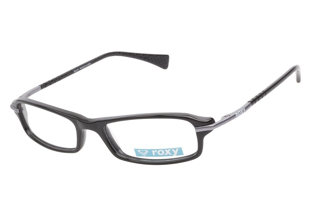 Roxy RO3010 400 Gunmetal eyeglasses are petite and classically ...