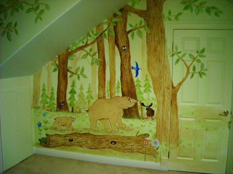 List Of Pinterest Enchanted Forest Decorations Bedrooms Wall Murals