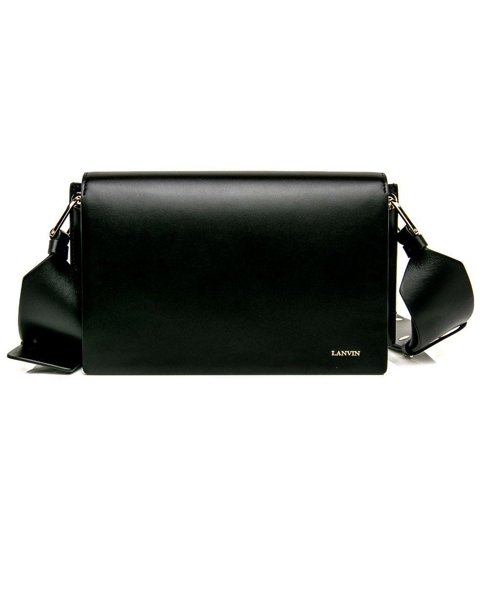 27c35ad4cd Lanvin Black Clutch Bag with Strap | Baggage. | Black clutch bags ...