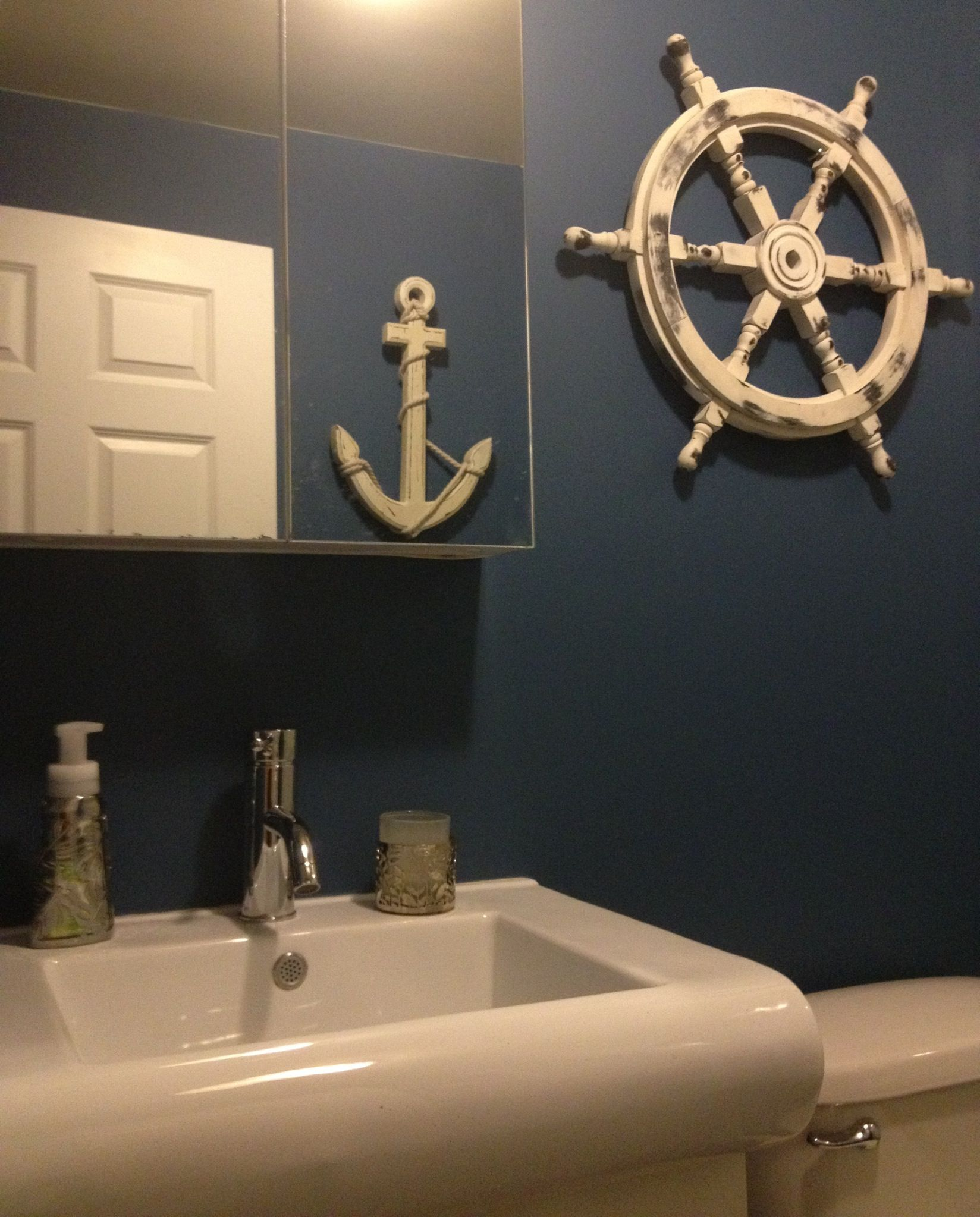 Superbe Our New Sailor Bathroom! Inspired By My Father Captain Cruz