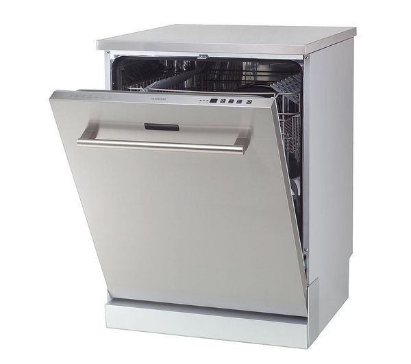 £299 KENWOOD KDW60X13 Fullsize Dishwasher Stainless