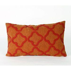 Liora Manne Crochet Tile Pillow - Orange at HSN.com.
