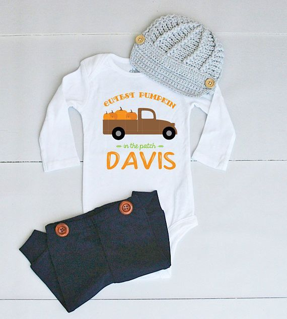 Pumpkin Patch Outfit For Baby Boy Baby Boy Fall Outfit For Pumpkin Patch Pictures Boy Pumpkin Boy Thanksgiving Outfit Thanksgiving Onesie Thanksgiving Baby