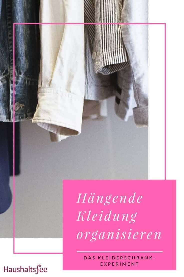 Ordnung Im Kleiderschrank 6 Geniale Beispiele Kleiderschrank Haushaltsfee Und Hangende Kleidung