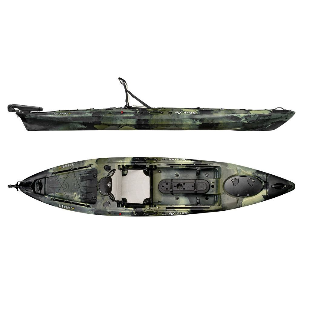 Vibe Sea Ghost 130 Angler Kayak Package (With images