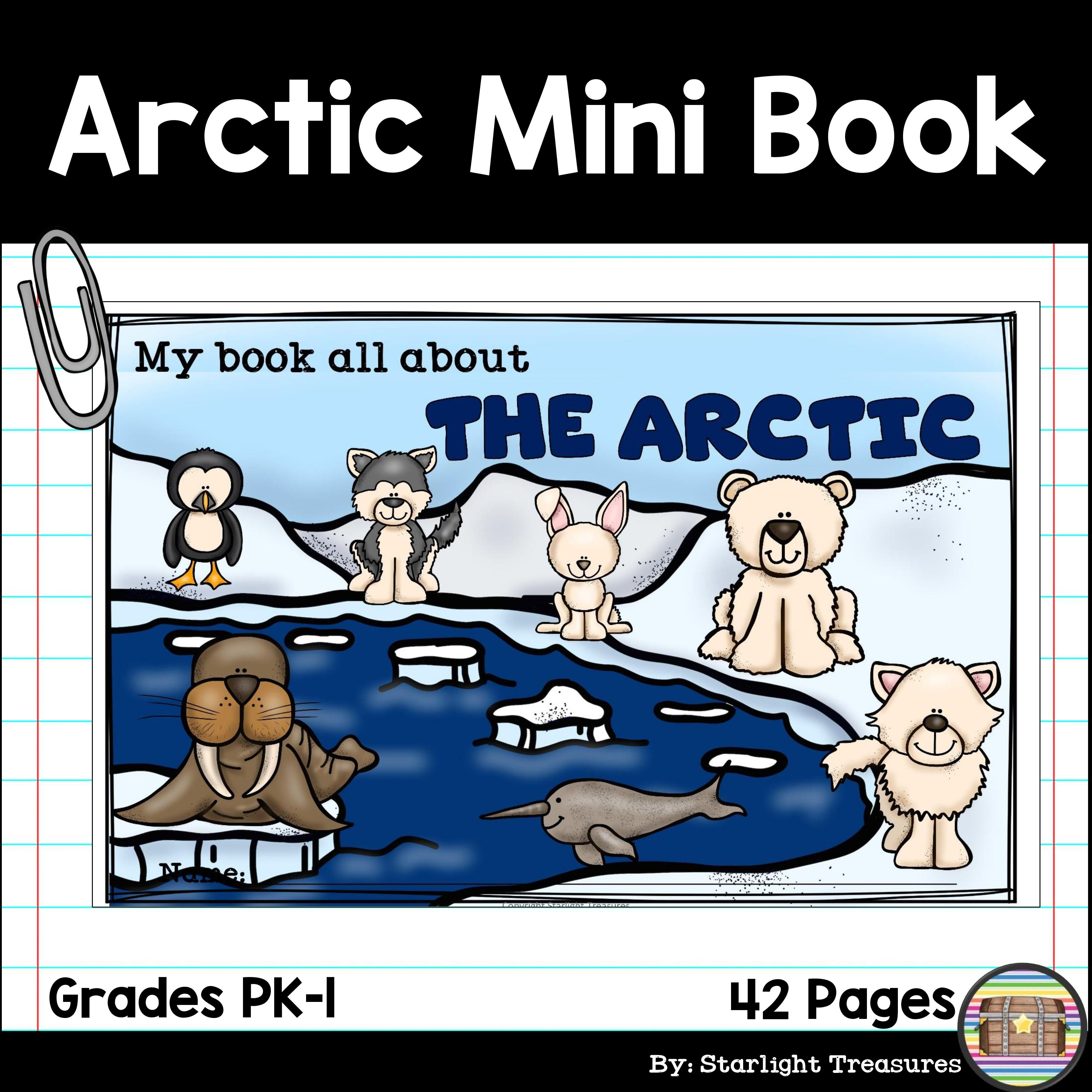 The Arctic Mini Book For Early Readers Arctic Animals