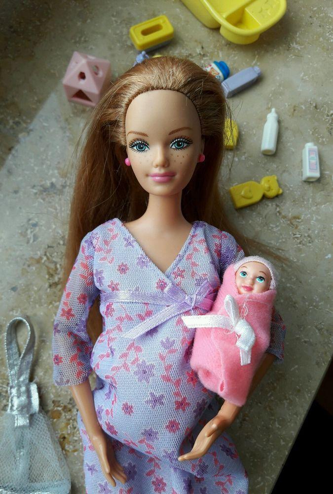 Barbie, schwangere, Midge, Happy Family, baby, Zubehör