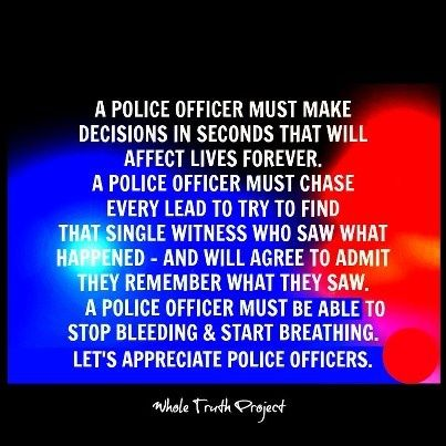 Police Officer Wife Quotes | Proud Wife of a Police Officer ...
