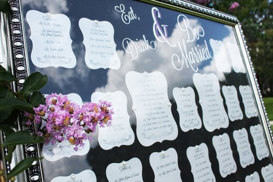 Creative ways to seat wedding guests