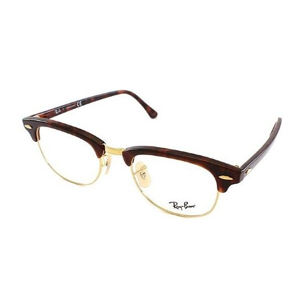 fde8d5cb10 Ray-Ban Ray Ban RX5154 Clubmaster 2372 Red Tortoise Gold Plastic... (