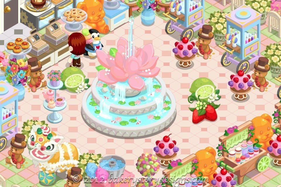 Garden Fountain Bakery Story Fountain Design Ideas Garden Fountain Fountain Design Pastry Shop